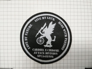 China 2014 high quality woven badge on sale