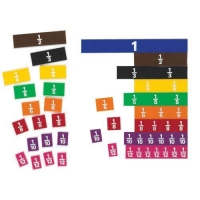 Fraction Tiles: Set of 51