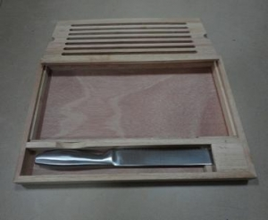 China Bread Cutting Board with Knife on sale