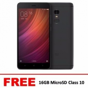 China Mobiles & Tablets Xiaomi Redmi Note 4 5.5 3GB/32GB Black [FREE 16GB MicroSD Class 10] on sale
