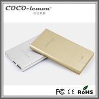 FYD-817 5000 mAh aluminium alloy power bank charger