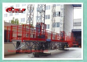 China Good quality 2000kg capacity Mast climber construction working rack and pinion platform on sale