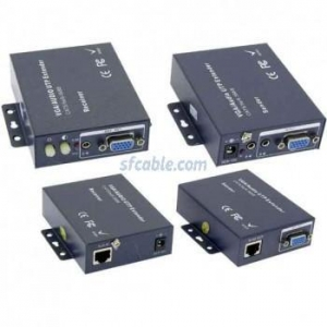 China 650Ft (200m) VGA/Audio Extender Via Ethernet Cable on sale