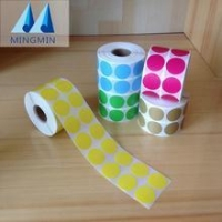 Hot stamping foil blank adhesive barcode stickers roll for zebra barcode printer