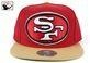 China 49ers XL Logo Snapback hat by Mitchell & Ness on sale