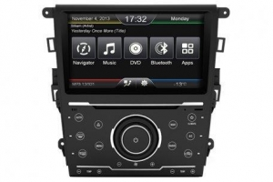 China In-Dash Car Navigation Stereo Ford Mondeo 2013 Aftremarket Navigation Head Unit on sale