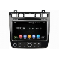 In-Dash Car Navigation Stereo Aftermarket GPS Navigation Car Stereo For VW Touareg 2015-2017