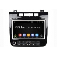 In-Dash Car Navigation Stereo Aftermarket GPS Navigation Car Stereo For VW Touareg 2011-2014