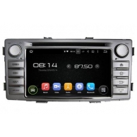 In-Dash Car Navigation Stereo Android OS Navigation Radio Player For Toyota Hilux 2012-2015