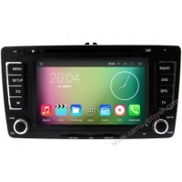 In-Dash Car Navigation Stereo Android 5.1 Navigation Autoradio For Skoda Octavia 2013