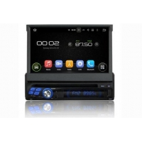 In-Dash Car Navigation Stereo Single Din Navigation DVD Player with 7 inch Touchscreen