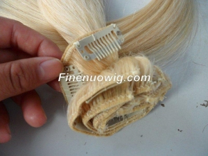 China Products Categories Indonesian clip-in hair with factory price FN201309202312 on sale