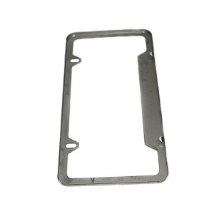 China Custom Made Sheet Metal Stamping Car Licence Plate Frame of different kinds on sale