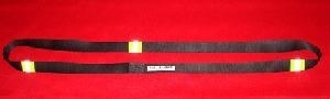 China Firefighter Hose Strap - Black w/3M Triple Yellow Reflective Stripe (no carabiner) on sale