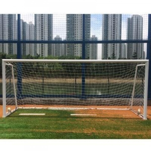 China Aluminum 3x2m soccer goals football handball goal post on sale