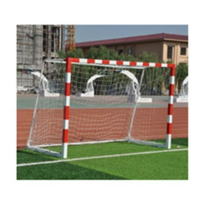 China Soccer equipment 2 x 3m partable steel handball soccer goal post on sale