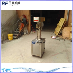 China semi auto manual glass plastic bottle capping machine on sale