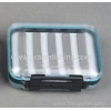 China Waterproof Outdoor clear plastic Fly fishing tackle box for sale