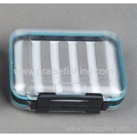 China Waterproof Outdoor clear plastic Fly fishing tackle box on sale