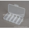 China Transparent Clear Plastic Fishing Lure Fishing Tackle Box for sale