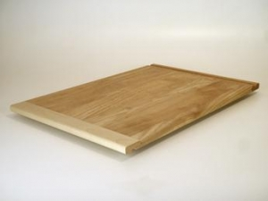 China Solid Rubberwood Cutting / Bread Boards on sale
