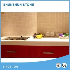 China Price for Engineered Stone Artificial Quartz Kitchen Countertop on sale