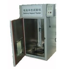 China Electronic wire detection Battery crash testing machine on sale