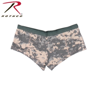 China Womens Army ACU Digital Camo PLAIN Booty Boy Shorts Panties Lingerie Undies on sale