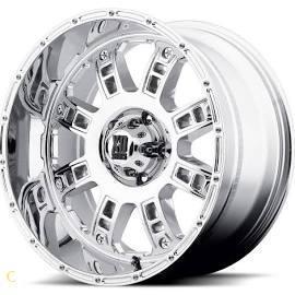 China XD Riot Wheels XD809 20X12 6X5.5 ( 6X139.7 ) Chrome -44 | XD80921268244N View Original Page on sale