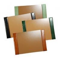 Reptile-Grain Leather Small Desk Pad