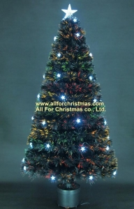 China Black FO tree with White LED Star on sale