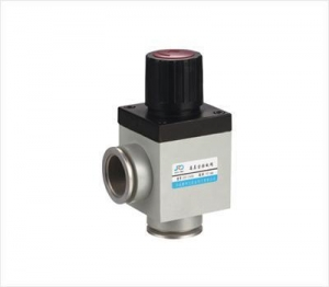 China GD-J(b) series manual-operated high-vacuum flap valve(with corrugated pipe sealing)/KF on sale