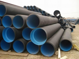 China Potable water and Irrigation Corrugated HDPE sewer pipe on sale