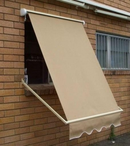 China Manual operation outdoor sunshade folding arm awnings on sale