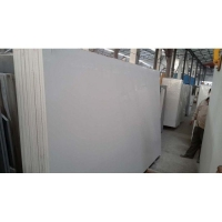 China Polished Pure White Artificial Quartz Stone Slabs for Countertop on sale