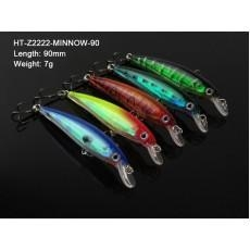 China Transparent Minnow Fishing lures 9CM on sale
