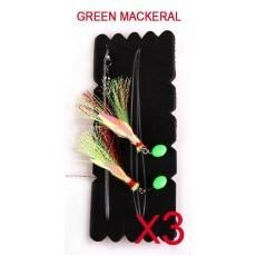 China Snapper Catcher Fishing Rig Natural Bait Colour Green MackeralFishing Hook on sale