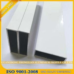 China Aluminum Manufacturer Supplying Powder Coated Aluminium Extrusion Aluminium Tube on sale