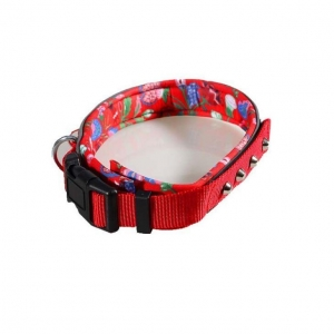 China The Best Personalised Yellow Nylon Dog Collars and Tags Martingale Harness for Pugs and Small Dogs on sale