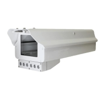 Outdoor IP66 Large Size Digital Camera Housing with Swiper for Video Surveillance Camera