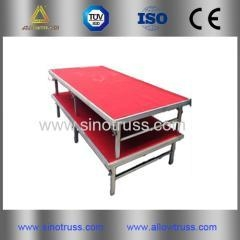 China Covenience Folding Aluminum Stage portable stage on sale