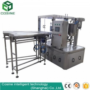 China Fruit drink juice spout pouch filling capping packing machine on sale