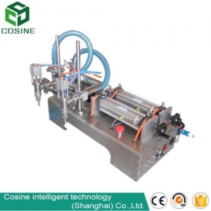 China semi-automatic high viscosity liquid/paste filling machine on sale