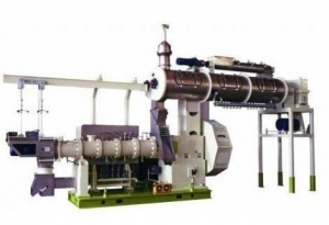 China Small Floating Fish Feed Pellet Extruder Machine on sale