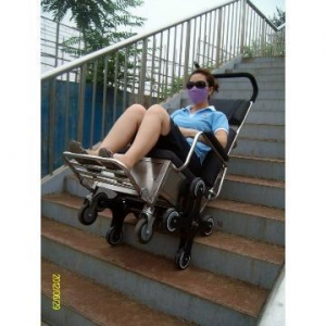 China Electric Wheelchairs To Climb Stairs/stair Climber Wheelchair ... on sale
