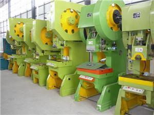 China J21-100Tons mechanical sheet metal hole punch press on sale