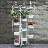 China Indoor and Outdoor Iron Flower Stand on sale