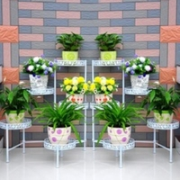 China Metal Flower Stand for Indoor and garden decoration on sale