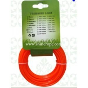 China nylon grass trimmer line for brush cutter lanyards on sale
