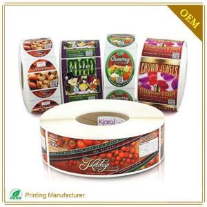 China fruit sticker label FL06 on sale